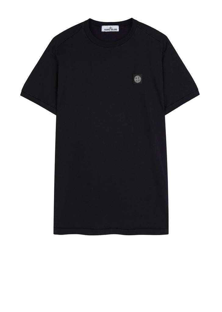 Small Logo Patch T-Shirt in Black