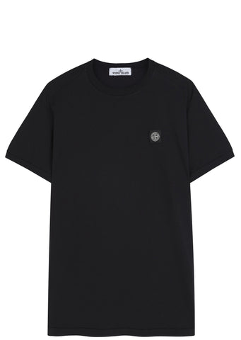 SS17 Cotton Jersey Short Sleeve T-Shirt in Black