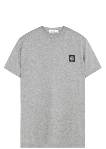 SS17 Cotton Jersey Short Sleeve T-Shirt in Grey