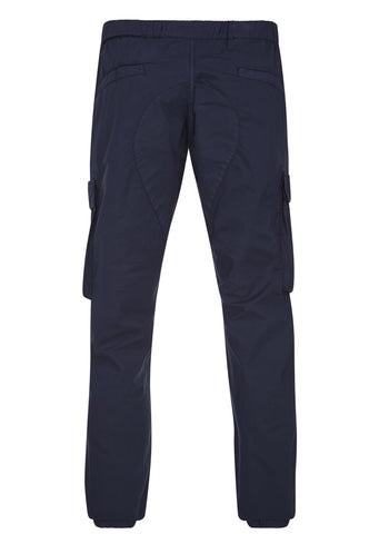 SS17 Cargo Jogging Pants in Blue