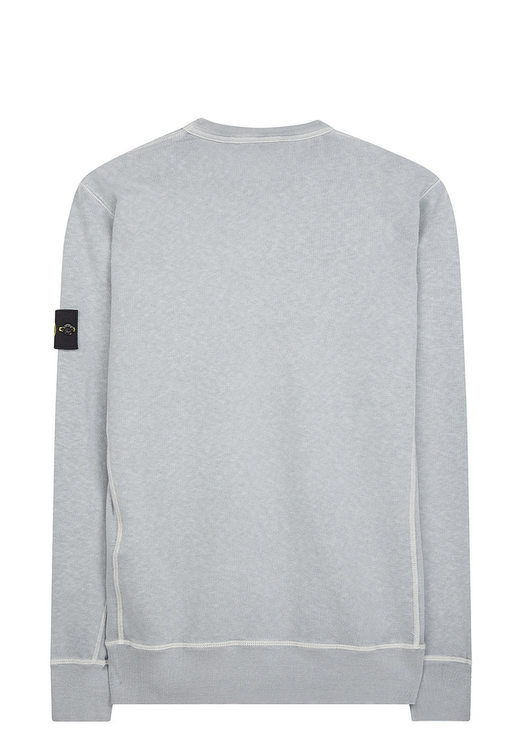 SS17 Washed Crewneck Sweatshirt in Grey
