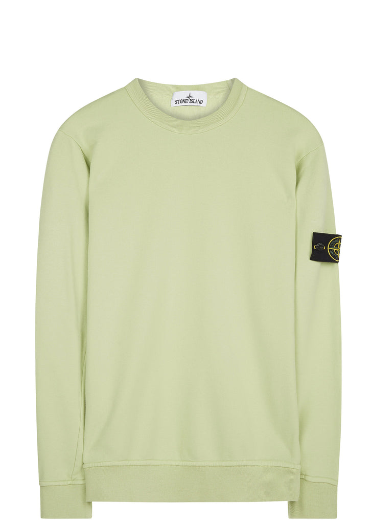 SS17 Crewneck Sweatshirt in Lime Green
