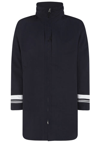 SS17 Tank Shield Jacket In Navy