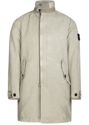 SS17 David-TC Dust Colour Treatment Trench Coat In Beige
