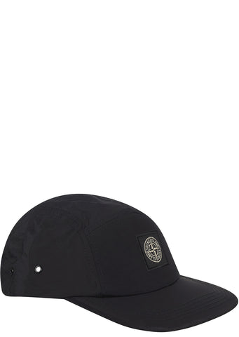 SS17 Nylon Metal Cap in Black