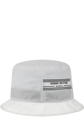 SS17 Marina Bucket Hat in White
