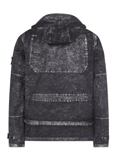 SS17 Silver Mist Treatment Field Jacket in Grey