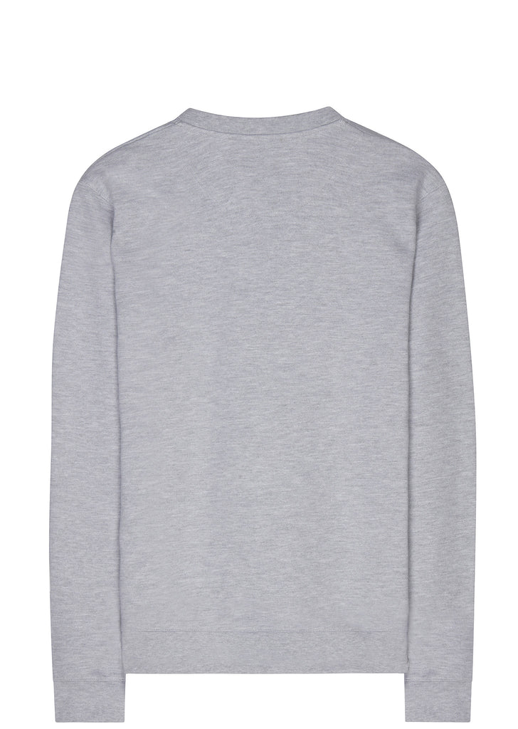 SS17 Made In The USA Logo Sweatshirt in Grey