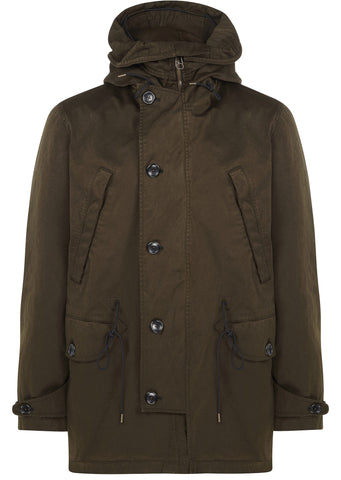 Deck Parka in Olive