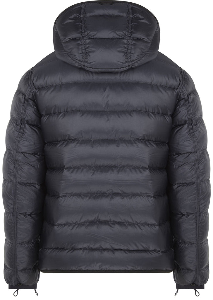 Reversible Hooded Down Liner in Midnight
