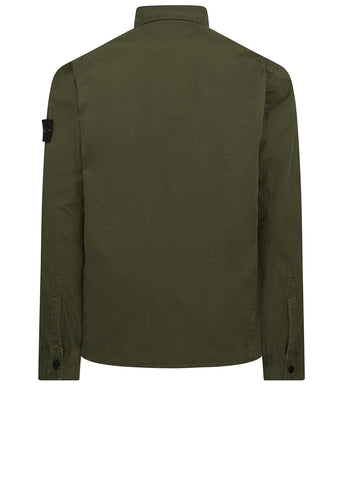 AW17 Old Effect Overshirt in Khaki