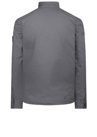 AW17 Old Effect Overshirt in Grey