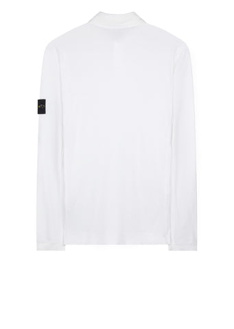AW17 Long Sleeve Mako Polo Shirt in White