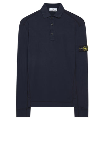 AW17 Long Sleeve Mako Polo Shirt in Navy