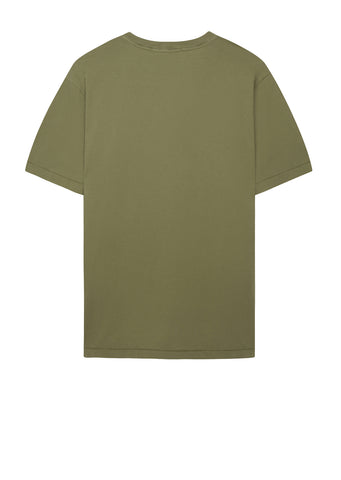 AW17 Small Logo Patch T-Shirt in Green