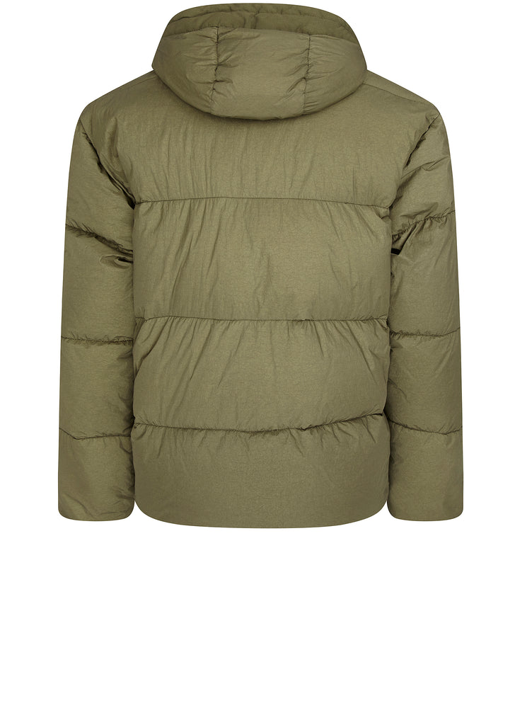 Garment Dyed Crinkle Reps NY Down Jacket in Sage