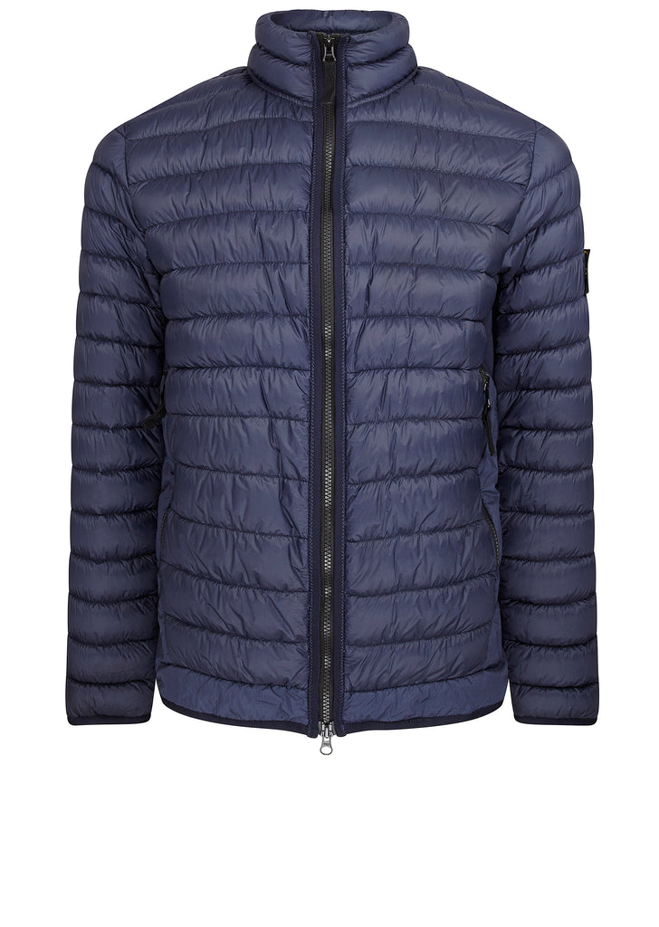 Micro Down Jacket in Marine Blue