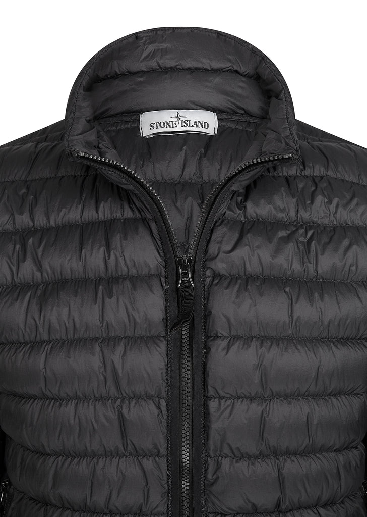 Micro Down Jacket in Black