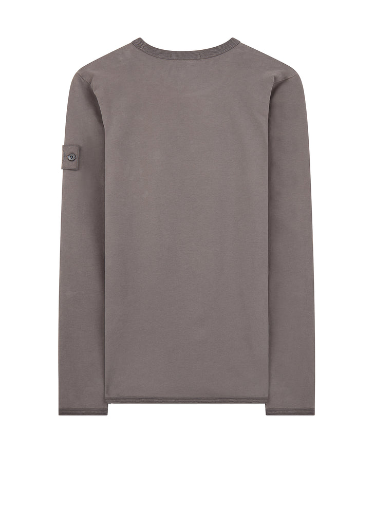 AW17 Garment Dyed Ghost Crew Sweat in Grey