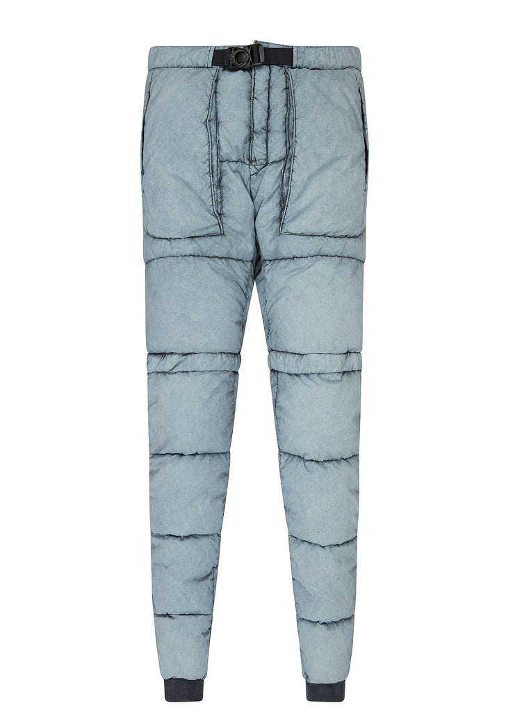 AW17 Tela Nylon Down Pants with Frost Finish in Dusty Grey