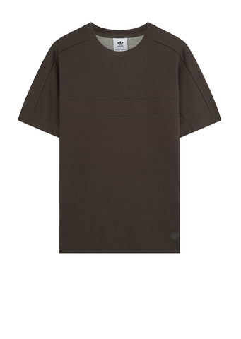 Wings + Horns Short Sleeve Tee in CInder