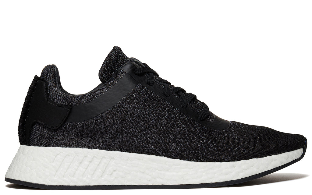 Wings + Horns NMD_R2 Primeknit in Core Black