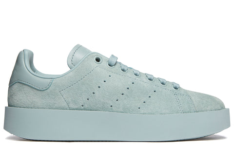 AW17 adidas Stan Smith Bold in Green (CG3774)