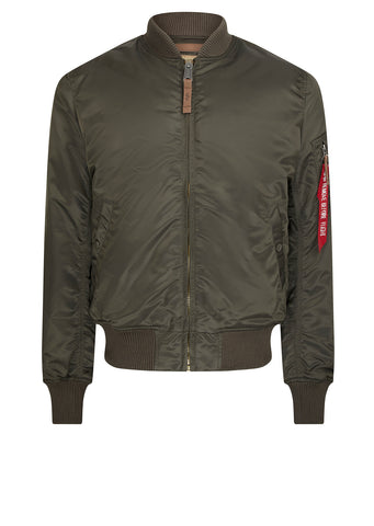 AW17 Alpha Industries MA-1 VF Bomber in Green