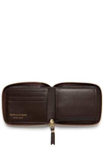 AW17 Classic Zip-Around Wallet in Brown