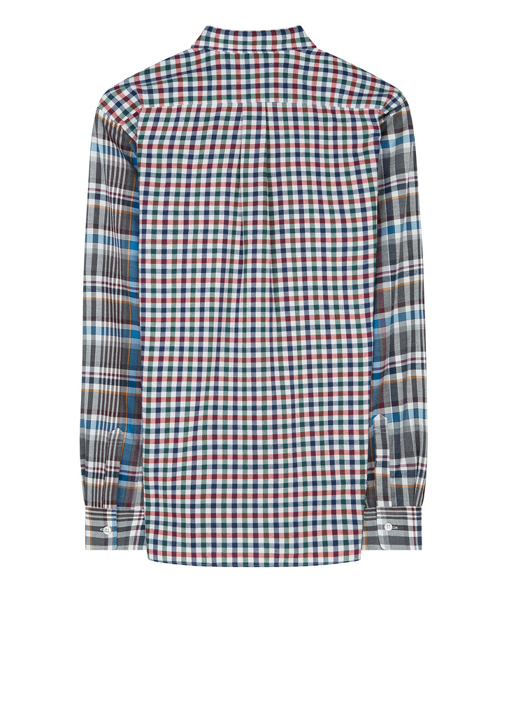 AW17 Shirt in Blue and Red