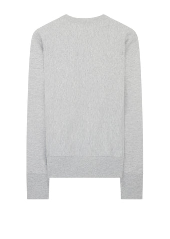 AW17 Classic Applique Crewneck Sweat in Grey