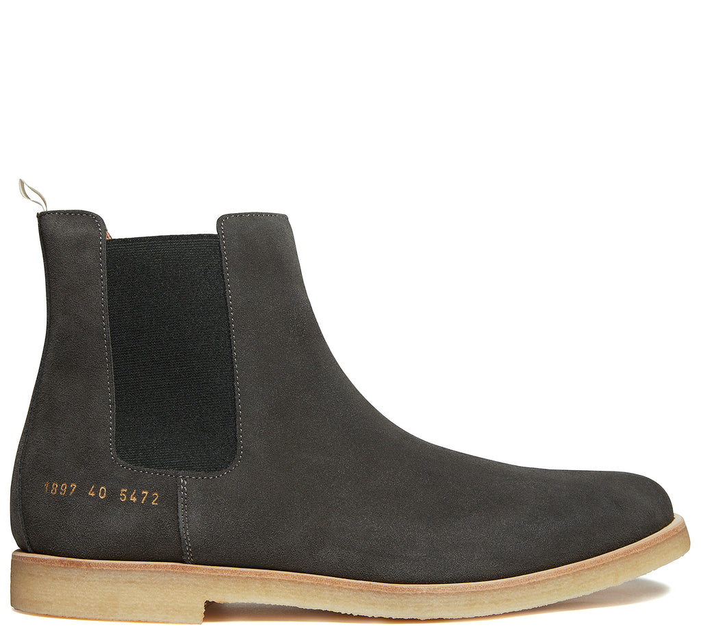 Chelsea Boot in Charcoal Grey