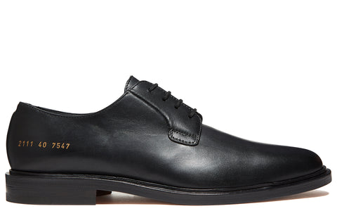 Derby Shoe in Black