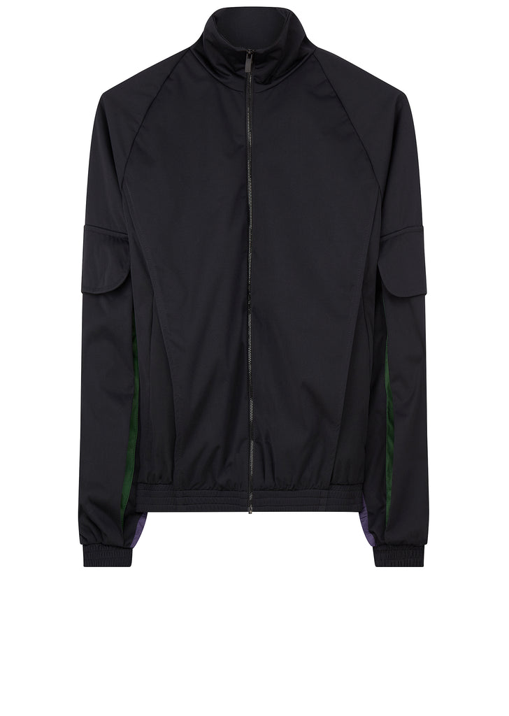 AW17 Utility Tracktop in Black