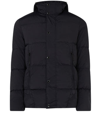 AW17 Nycra Down Goggle Jacket in Navy