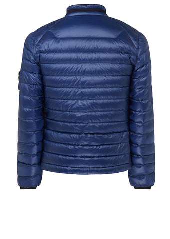 AW17 D.D. Shell Lens Zip Down Jacket in Blue