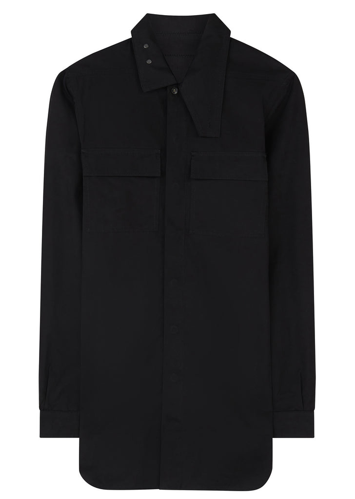 AW17 Technical Field Overshirt in Black