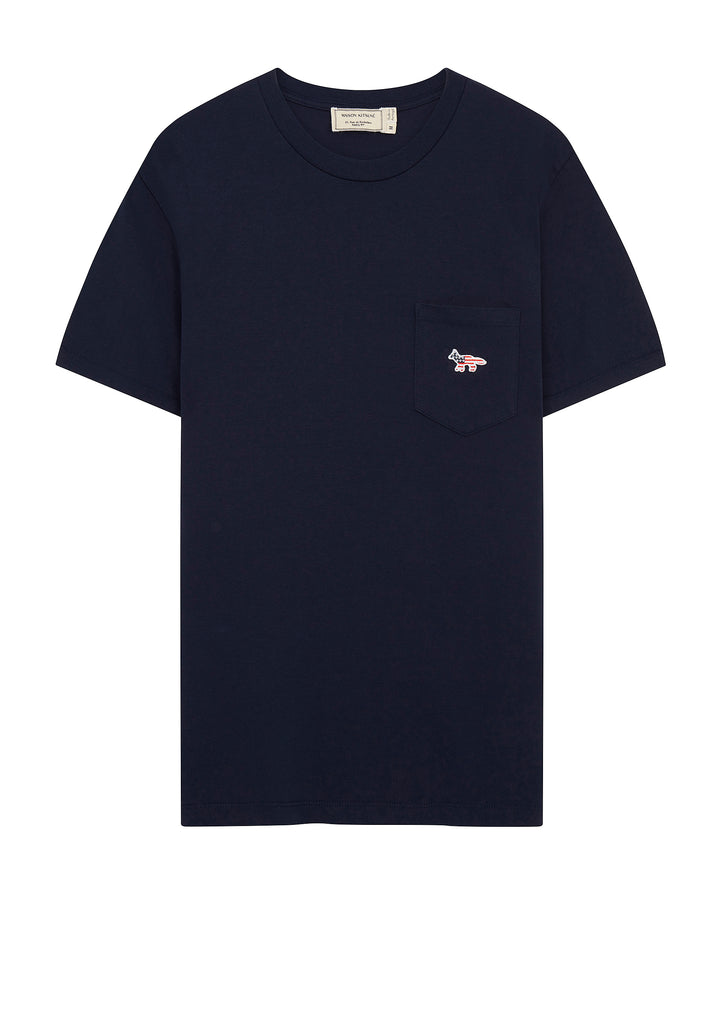 AW17 Fox Patch America T-Shirt in Navy