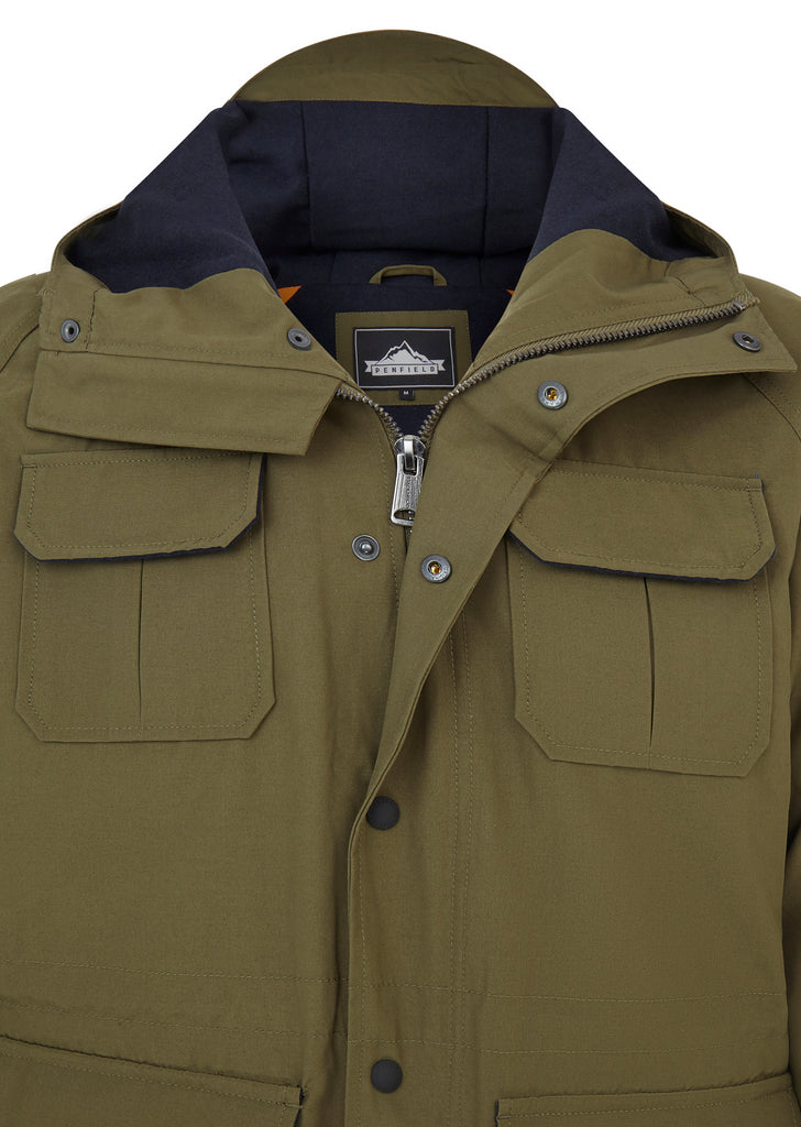Kasson Parka in Olive