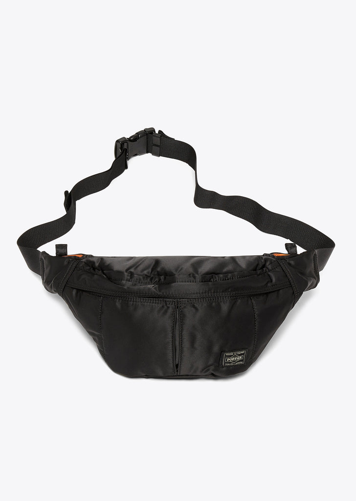 Tanker Two-Way Waist Bag in Black
