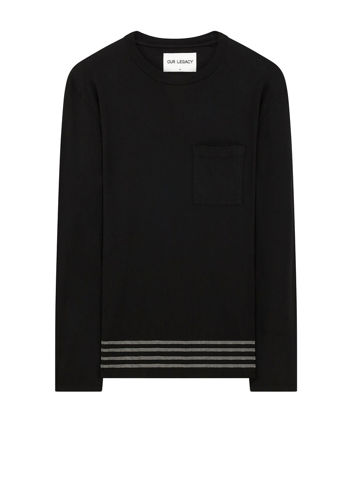 AW17 Long-Sleeved T-Shirt in Black