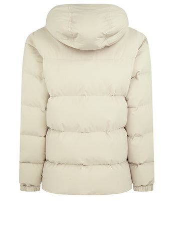 Human Control System Down Jacket in White