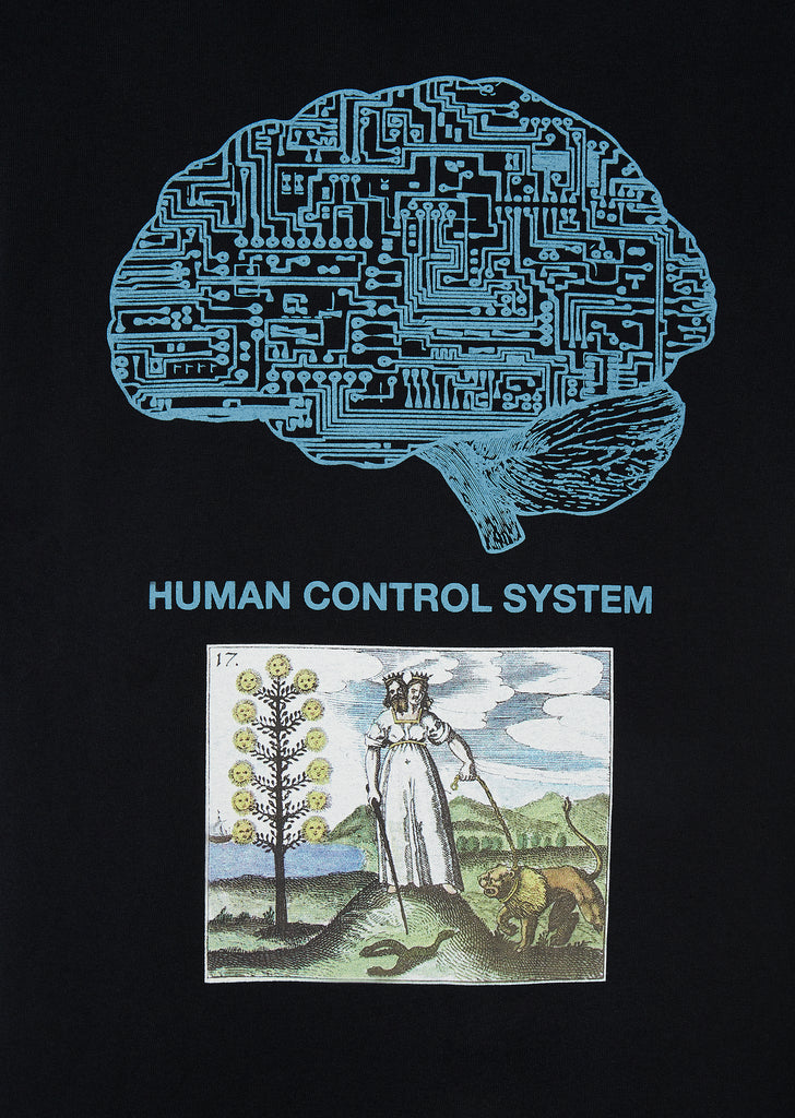 Human Control T-Shirt in Black