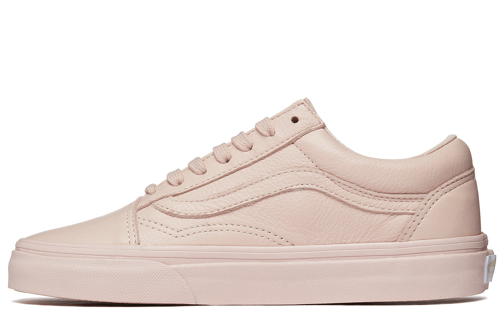Leather Old Skool in Sepia Rose