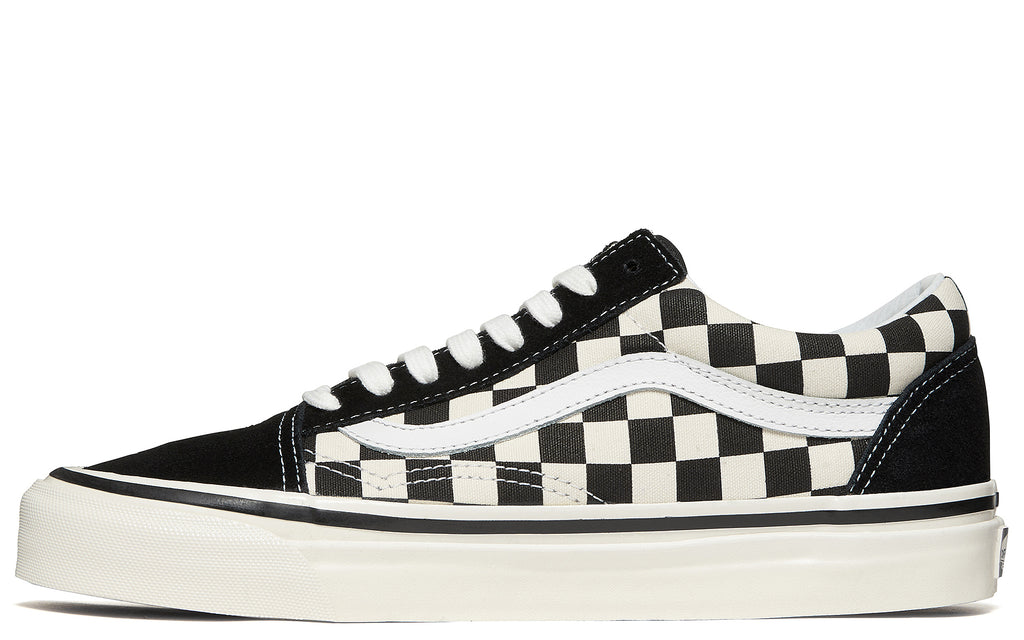 AW17 Anaheim Factory Old Skool 38 DX in Black Check