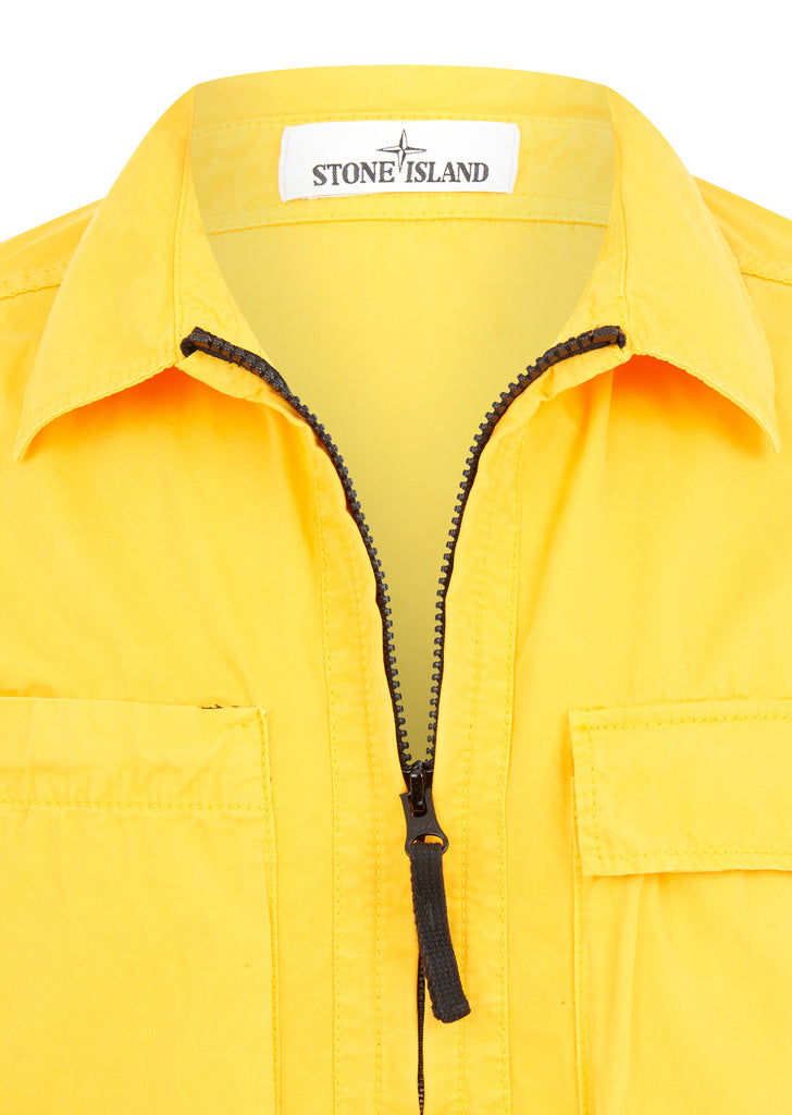 T.Co+Old Effect Overshirt in Yellow