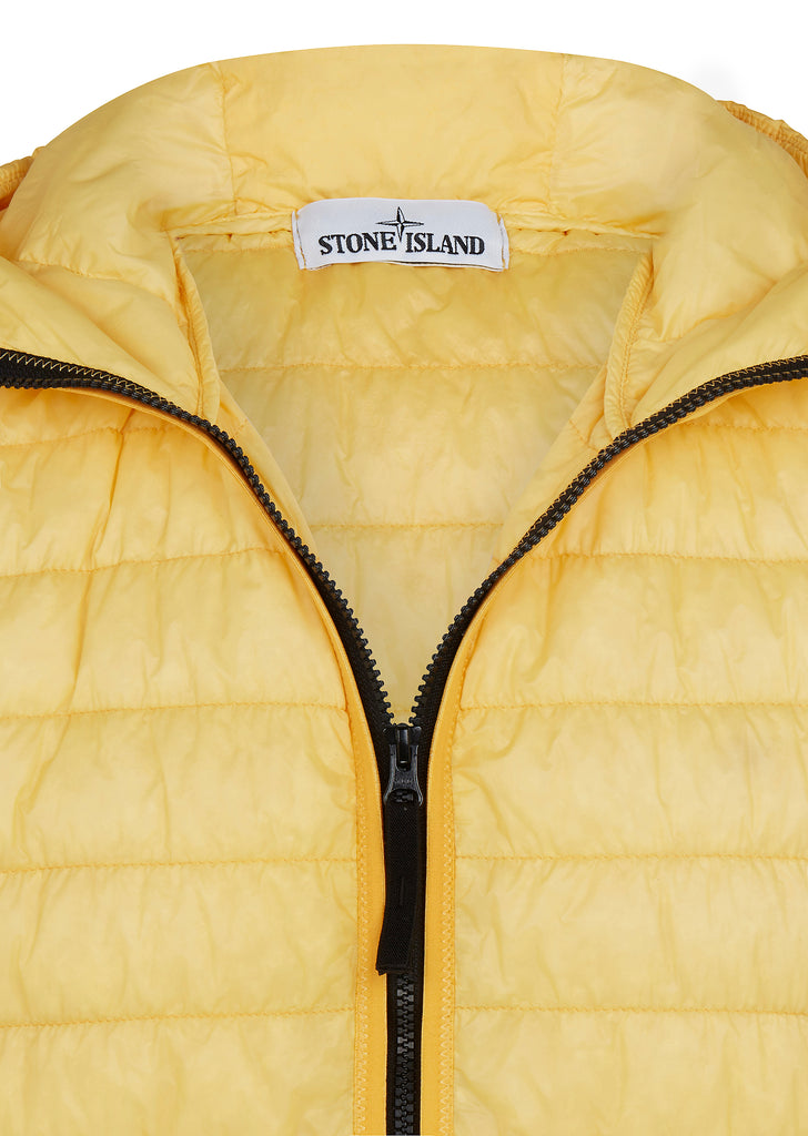 SS18 Real Down Jacket in Yellow