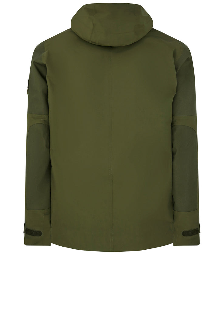 Ghost Piece Tank Shield Jacket in Khaki