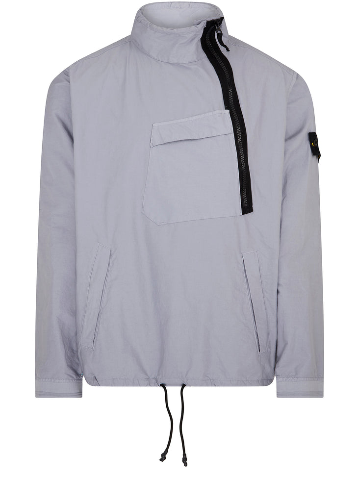Light Cotton Nylon Twill Jacket in Lavender