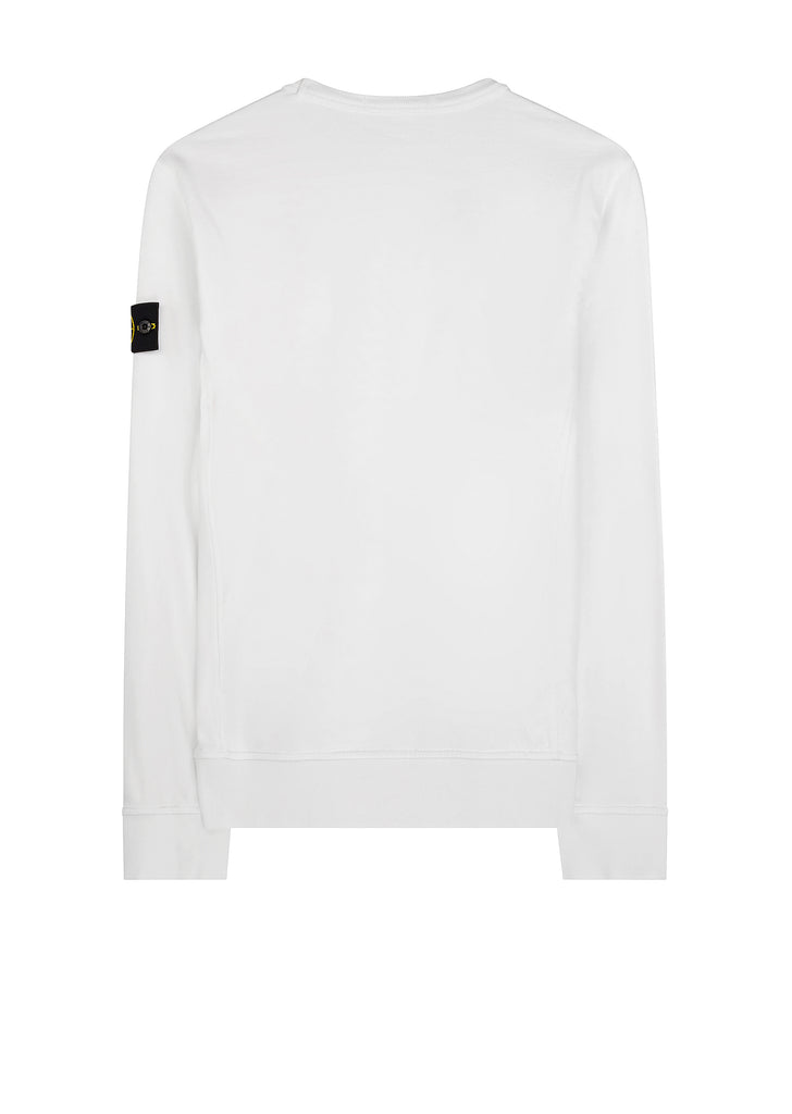 SS18 Cotton Sweatshirt in White